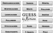 978 Teile Exklusive Herrenmode von GUESS BY MARCIANO