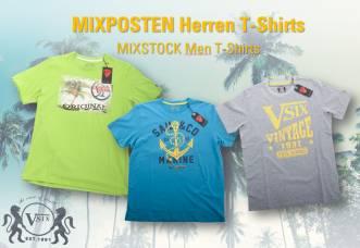 87 Teile MIXPOSTEN Herren T-Shirts
