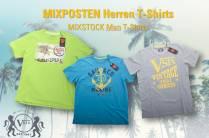 588 Teile MIXPOSTEN Herren T-Shirts