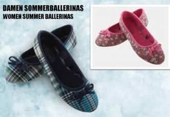 118 Paar Damen Sommerballerinas